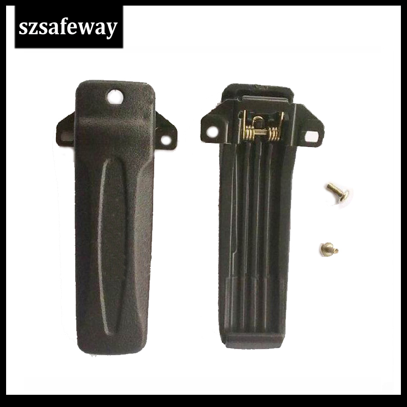 5pcs/lot  KBH-10 Two Way Radio Belt Clip For Kenwood Walkie Talkie TK-2207 TK3207 TK2207G TK3207G Free Shipping