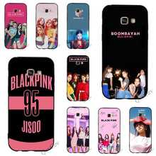 Shockproof BLACKPINK KPOP BLACK PINK Phone Cover for Samsung Galaxy A6 Case A3 S7 S6 Edge S8 A5 S9 Plus Note 8 9 Cases Back