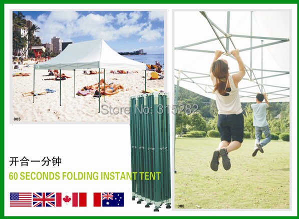 High Quality 1 second garden outdoor Folding tent 3x6M Pop Up marquee tents-in Tents from Sports u0026 Entertainment on Aliexpress.com | Alibaba Group  sc 1 st  AliExpress.com & High Quality 1 second garden outdoor Folding tent 3x6M Pop Up ...