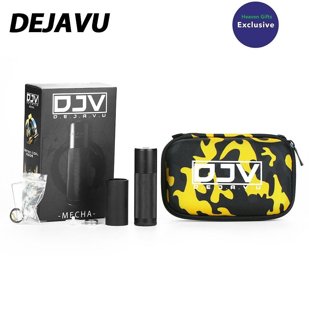 MOD Original chaud de DEJAVU DJV Mech avec la puissance Unique de système hybride par la batterie Unique 18650 Vape Mod convenable RTA/RDA Vs Tauren Mech Mod