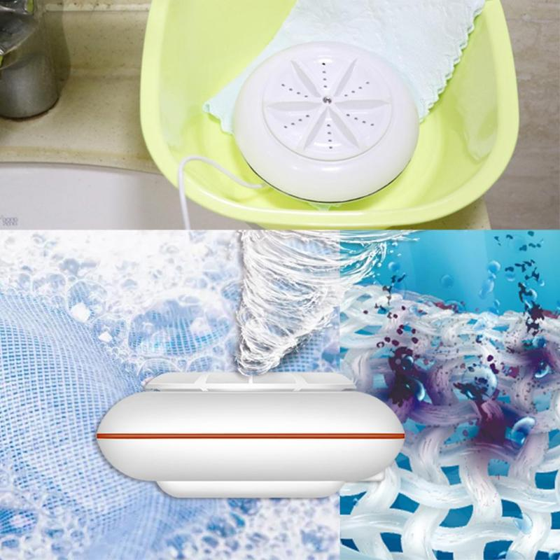 2 in 1 Mini Washing Machine USB Ultrasonic Cleaner Turbine Laundry Washer Spin Dryer Clothes Washing Machine for Home Traveller2 in 1 Mini Washing Machine USB Ultrasonic Cleaner Turbine Laundry Washer Spin Dryer Clothes Washing Machine for Home Traveller