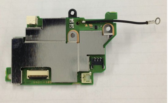 bilder für Neue 70D Plattenplatine PCB Für Canon 70D POWERBOARD 70D power board ASS'Y DC/DC repairPart Kamera
