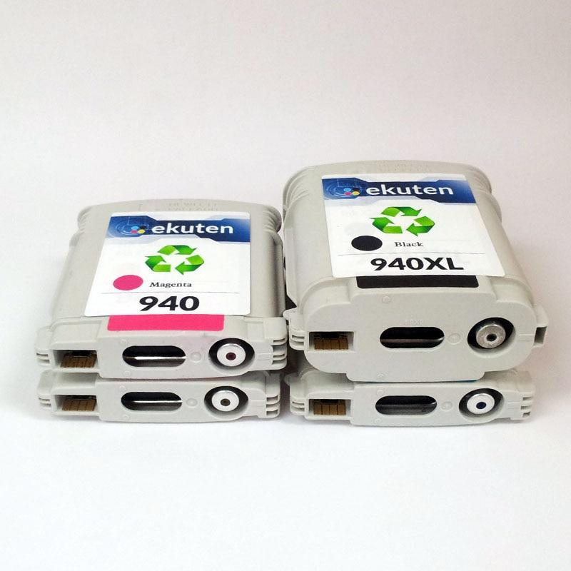 HP 940 xl 940XL C4906A C4907A C4908A C4909A толық сиямен - Кеңсе электроника - фото 3
