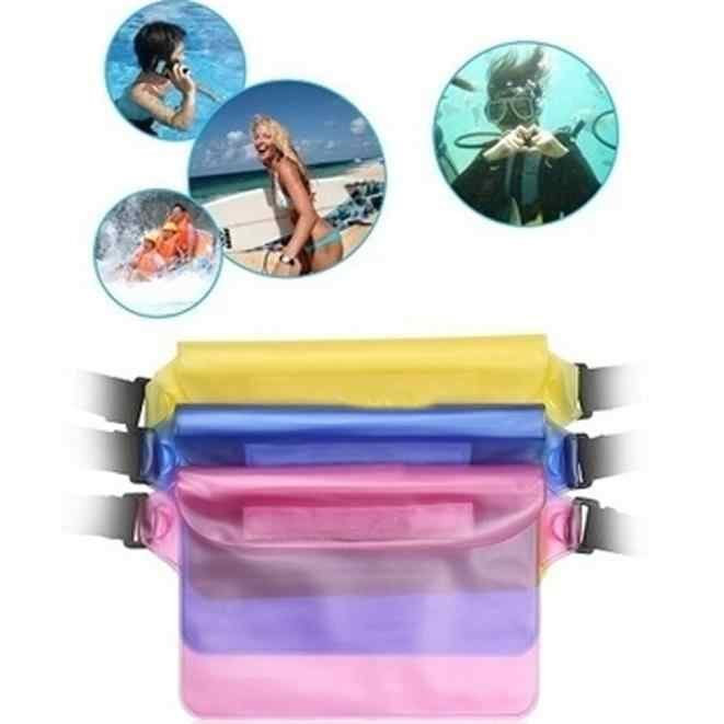 Waterproof Ski Drift Diving Swimming Bag Underwater Dry Shoulder Waist Pack Bag Pocket Pouch for iphone 6 7 casec over m18