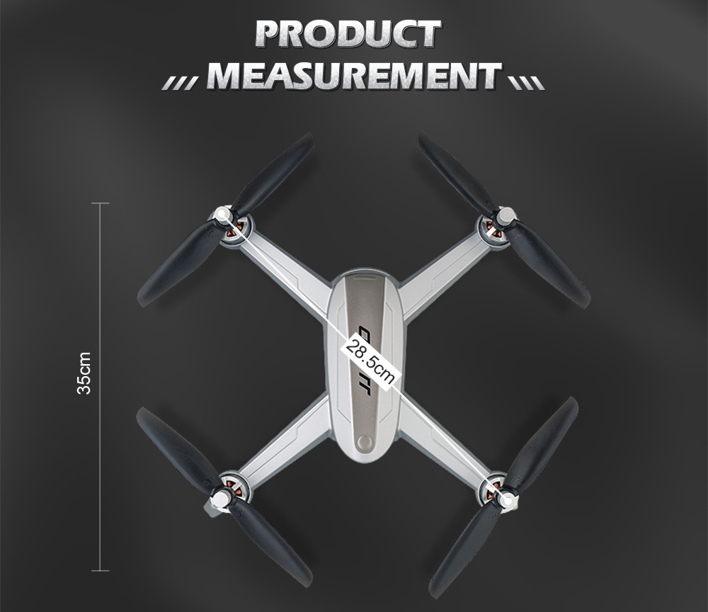JJRC JJPRO X5 RC Drone 5G WiFi FPV Drones GPS Positioning Altitude Hold 1080P Camera Point of Interesting Follow Brushless Motor 28
