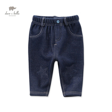 DB3959 dave bella autumn baby boys pants babi trousers boys jeans denim blue pants