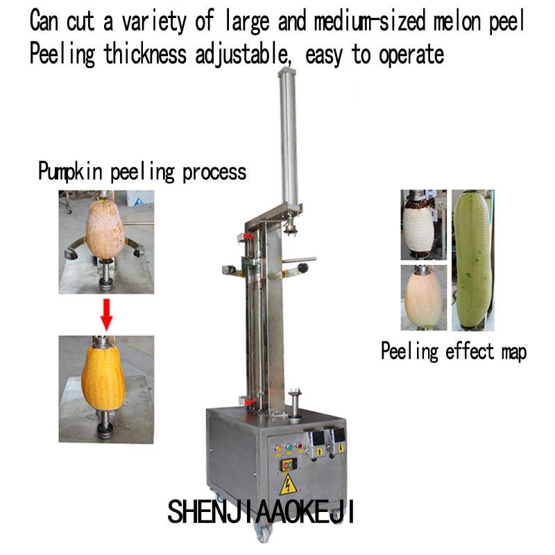 ZH-XP1 Fruit Peel Breaking Machine / Pumpkin Peeling Machine Melon And Grapefruit Peeling Machine 380V 0.75KW 1 PC