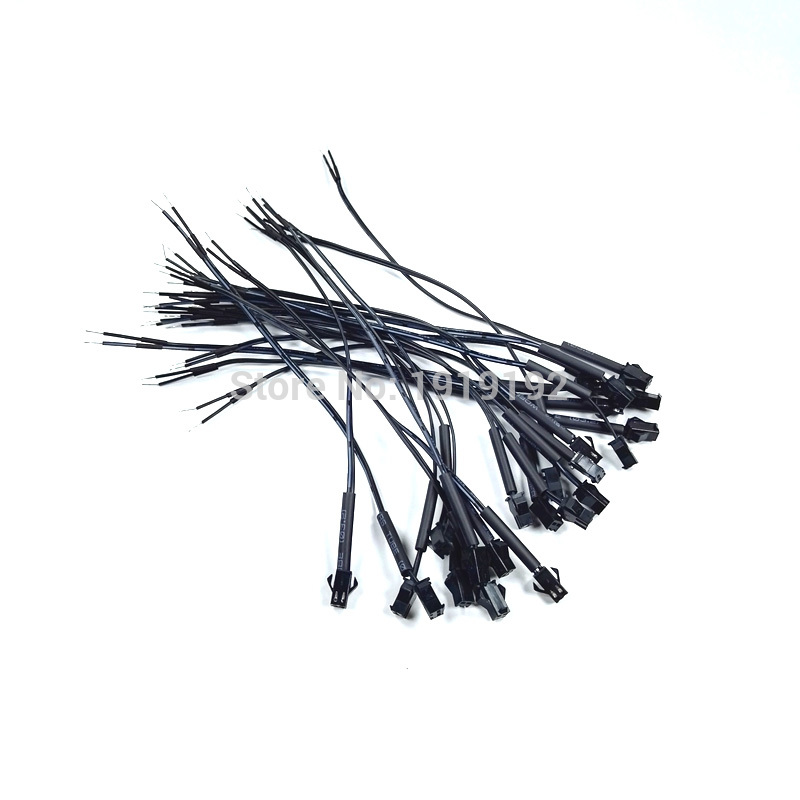20PCS/lot Female EL Wire Connectors with 3.2mm Heat shrinkable tube for EL wire or EL strips EL Panel party decoration