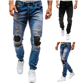 Slim Fit Ripped Men Jeans