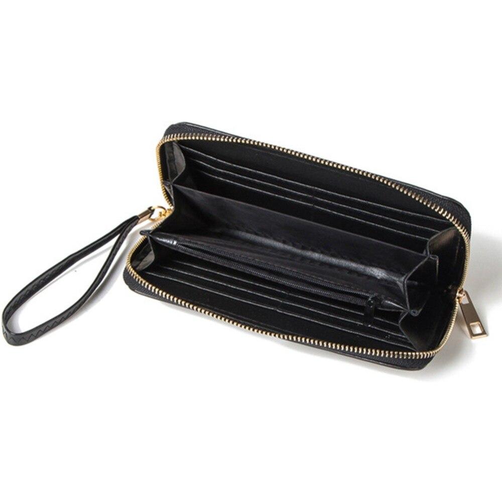 Artmi Women Wristlet Lady Kreditkort Hållare Läder Kontant Plånbok - Plånböcker - Foto 4