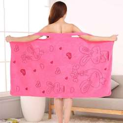 Microfiber Soft Bath Towel Fashion Women Sexy Wearable Quick Dry Magic Bathing Beach Spa Bathrobes Wash Clothing Beach Dresses