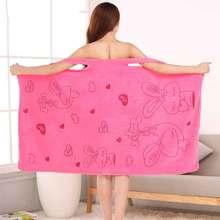 Microfiber Soft Bath Towel Fashion Women Sexy Wearable Quick Dry Magic Bathing Beach Spa Bathrobes Wash Clothing Beach Dresses