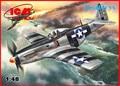 Icm modelo 48154 1/48 Mustang P-51K segunda guerra mundial lutador americano kit modelo de plástico