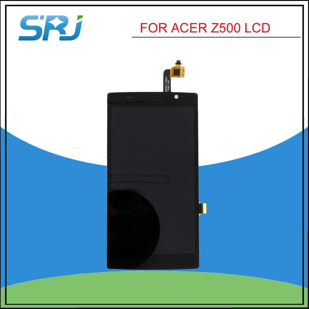 ФОТО Wholesale Price LCD Display Touch Screen Digitizer Assembly For Acer Liquid Z500 Free Shipping
