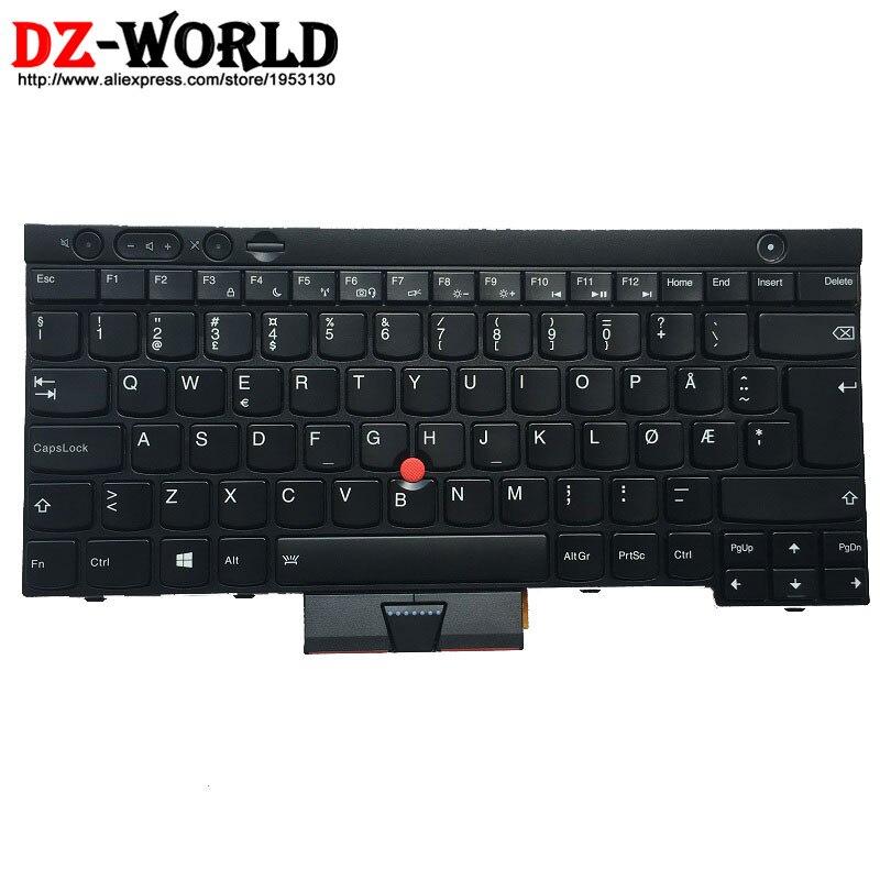 New Original for Thinkpad T430 T430i T430S T530 T530i W530 Backlit Keyboard Norwegian Backlight Teclado 04X1260 04X1373 0C01943 russian new for thinkpad t430 t430i t430s t530 t530i w530 backlit keyboard ru