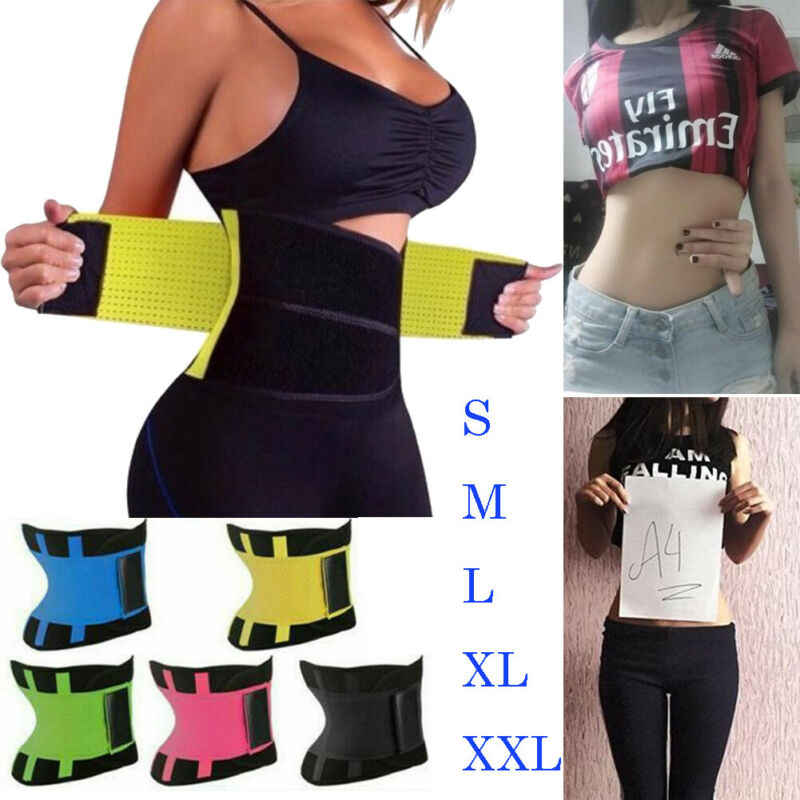 Sports Fitness Waist Belt Waist Trainer Female Latex Corset Shape Shapewear Slimming Sport Mould