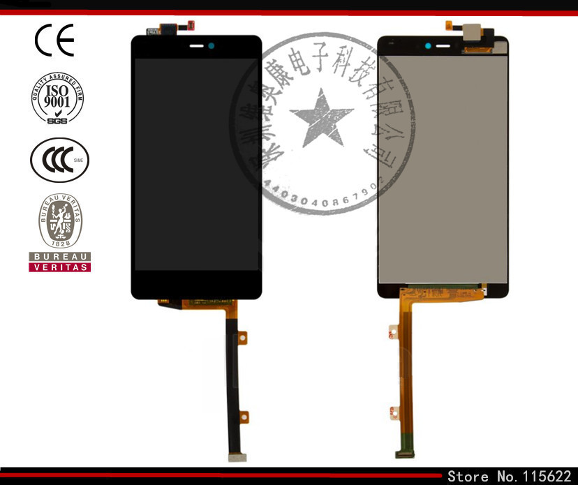 ФОТО LCD display screen for Xiaomi Mi4i Cell Phone, (black, original (PRC), with touchscreen,with Logo)