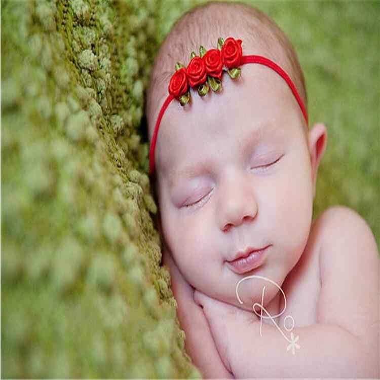 תינוק אביזרי שיער להקת בגדים עלה פרח יילוד בארה 'ב ילדי כיסוי ראש גומייה לשיער מתנה פעוטות ילדה