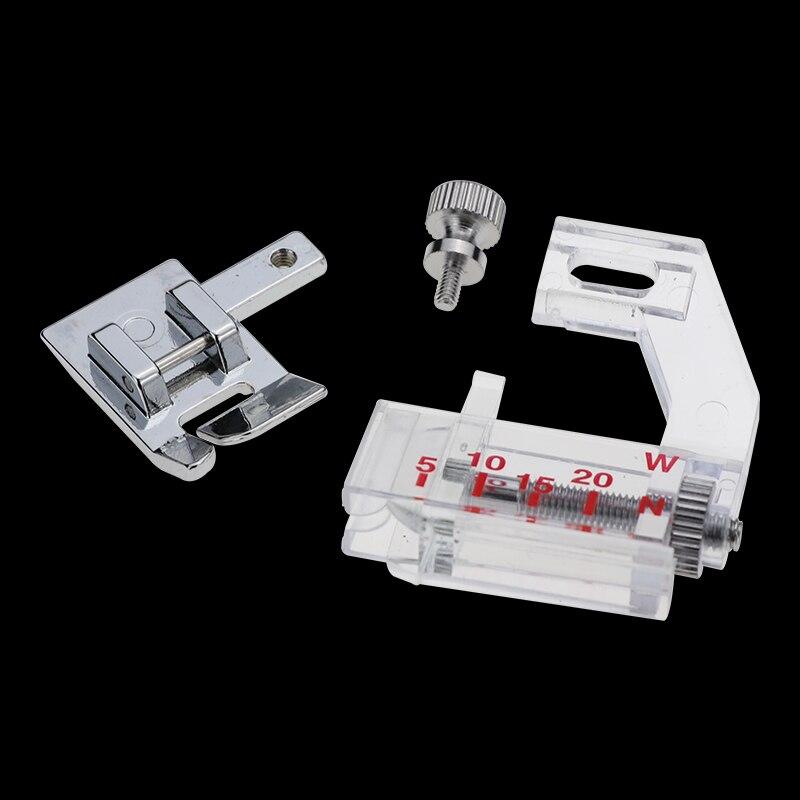 Tinksky Portable Snap-on sesgo Binder cinta vinculante pie prensatelas para m/áquinas de coser dom/ésticas