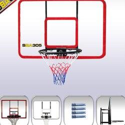Estantería de baloncesto con tablero de PC de 120x80 CM de pared roja