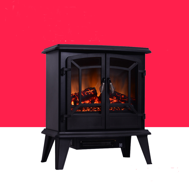 European independent fireplace heater Energy-saving 3D simulation flame electric small fireplace stove hearth