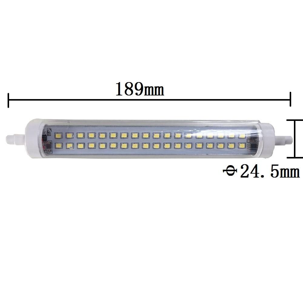 Honeyfly 3pcs r7s 189mm led lamp 15w 220v j189 double for R7s 150w led