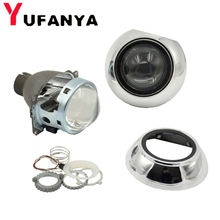 Car Styling Bixenon Projector Lens 3Inch Q5 Koito With Silver Cover Shrouds Use D2s 5000K Xenon Bulb Fit Car Motorcycle Retrofit