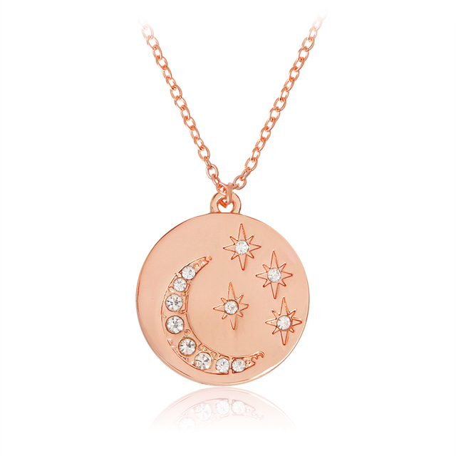 at engravable necklace gold double disk london designer disc pendant i love akalis