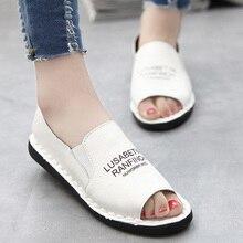 2017 Nouveau Mode pop Molle Féminine Semelle Mocassins Casual cuir synthétique Chaussures Plates Paresseux Femmes Sandales Livraison Gratuite