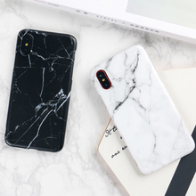 Phone Case For iPhone 7 6 6s 8 X Plus 5 5s SE XR XS Max Simple White Solid Color Ultrathin Soft TPU Candy Back Cover