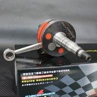 Crankshaft, for Yamaha, JOG50,JOG90. 41.4mm+220, 45mm,+300p, racing parts, tuning crankshaft, crank, for, jog,50
