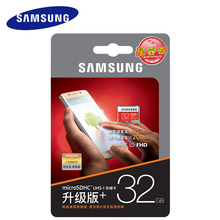 Original SAMSUNG Micro SD Memory Card EVO+ Plus 32GB Class10 Waterproof TF Flash Memoria SD Card C10 SDHC UHS-1 For mobile phone