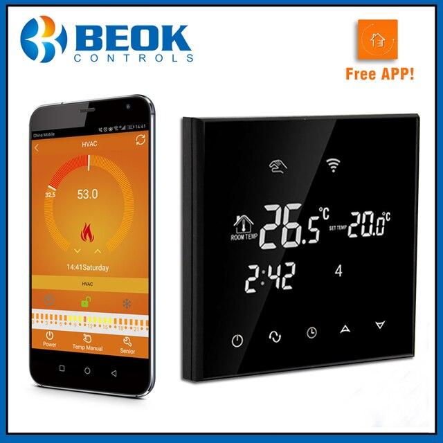 Beok TGT70WIFI Gas Kessel Touch Screen Zimmer Thermostat Wöchentlich ...