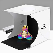 "Mini 20*20 cm 8 ""Dobrável Câmera Fotografia Photo Studio Luz kit Tent box lightroom Emart Difusa Estúdio softbox lightbox"