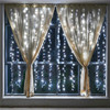 6 2m 384 Bulbs LED Curtain Light Christmas Lights Outdoor Decoration For Party Holiday New Year