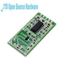 Módulo de sensor de radar de Electrónica Inteligente, 5 uds., RCWL 0516, detección de movimiento humano, módulo inteligente