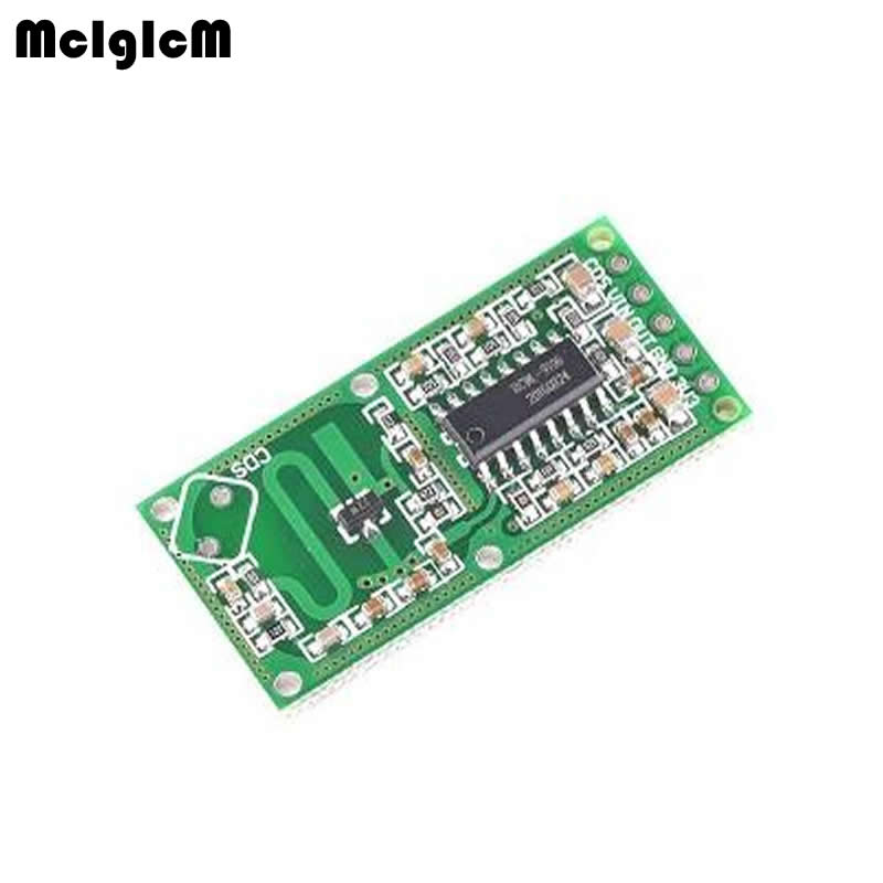With The Penetrating Detection Capability 5Pcs RCWL-0516 Microwave Radar Sensor Human Body Induction Switch Module OutputWith The Penetrating Detection Capability 5Pcs RCWL-0516 Microwave Radar Sensor Human Body Induction Switch Module Output