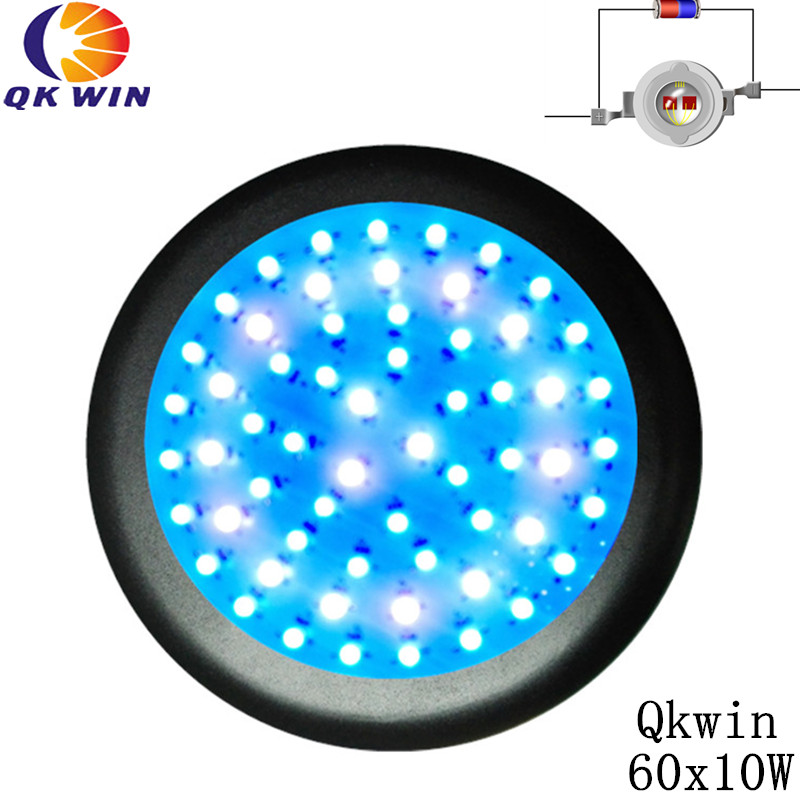 Qkwin UFO 600W LED Grow Light ufo 60x10w Full Spectrum LED Grow Lights For Indoor Plants Flowering And Growing