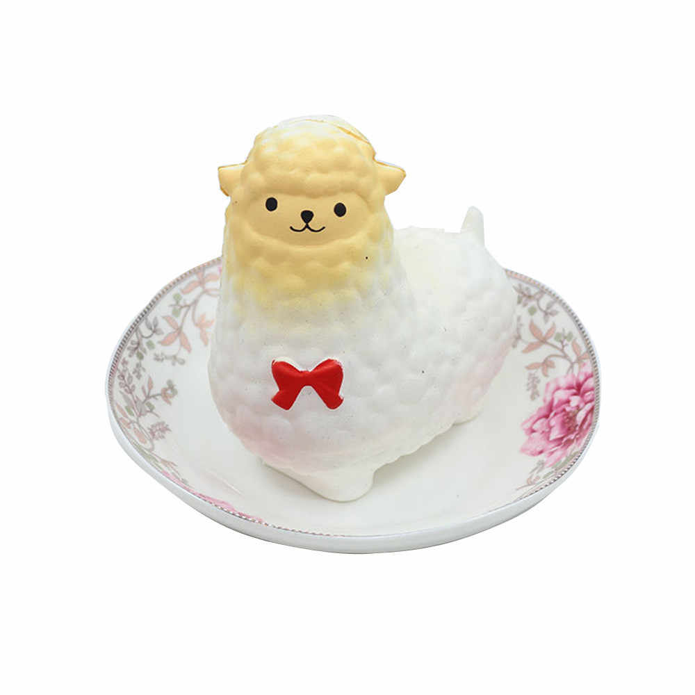 Мягкие овечки Альпака игрушки развлечения антистресс девушки Забавный гаджет приколы розыгрыши Squisy Новинка кляп игрушки