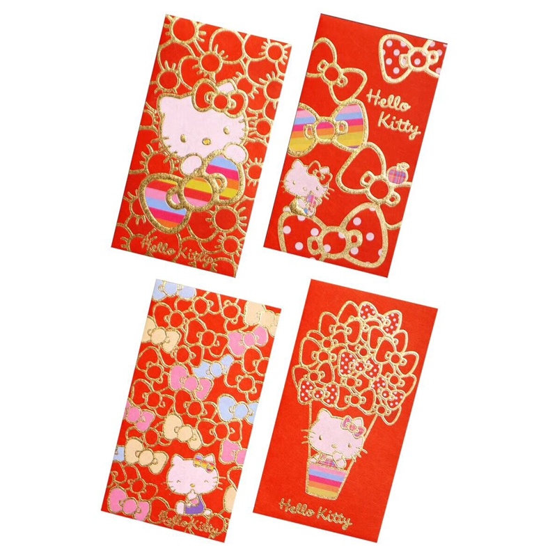 Paper Envelopes 6pcs 2019 New Year Red Envelope Envelope Small Red Print Bag Office School Home Desk Decoration Supplies Creative New Year Gift Mail & Shipping Supplies