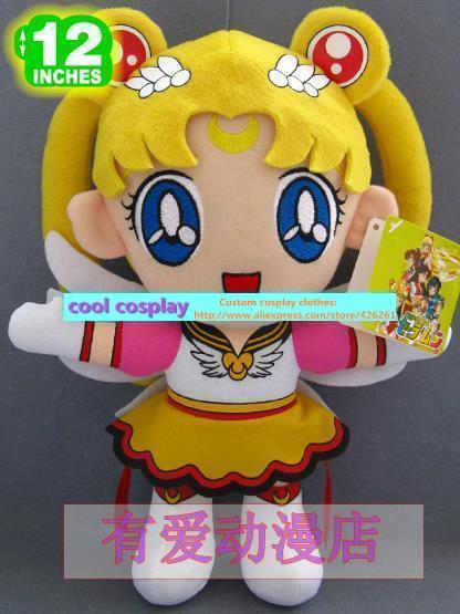 Sailor Moon font b plush b font Cat Luna font b Plush b font Toy font