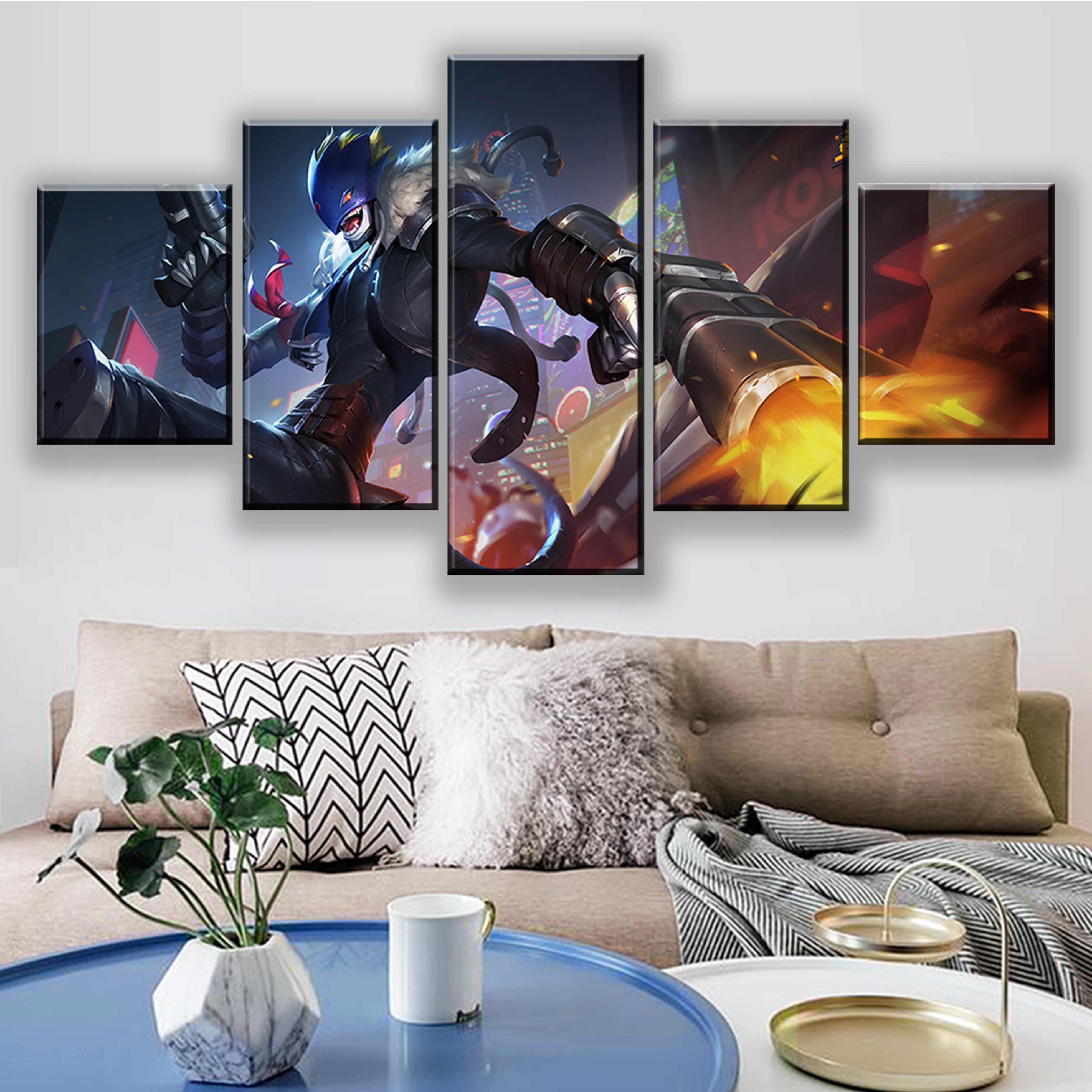 Digimon Adventure HD Print Canvas Print Wall Poster Scroll Room Decor