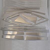 Для KIA Sorento 2013 из нержавеющей стали окна средняя рамка планки Центральная колонна обшивка окна полное украшение окна 18 шт