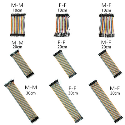 Dupont Line 10/20/30cm Male to Male,Male to Female,Female to Female Jumper Wire Dupont Cable for ArduinoDupont Line 10/20/30cm Male to Male,Male to Female,Female to Female Jumper Wire Dupont Cable for Arduino
