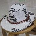 Verano de ala ancha de paja niño Sombreros Fedora niños Sombreros de sol Sombreros de vaquero Sombreros capsula el envío gratuito LEXS-001