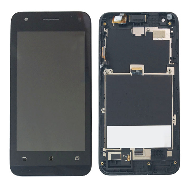 Black LCD Display Touch Digitizer Assembly Frame For Asus Zenfone C ZC451CG