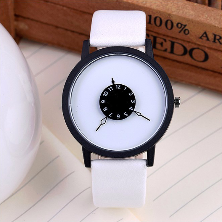 Hot Sale Woman Watch Women  Leather  Quartz Wrist Watches Rhinestone Fashion Ladies Casual Watch Relogio Feminino Zegarek Simple