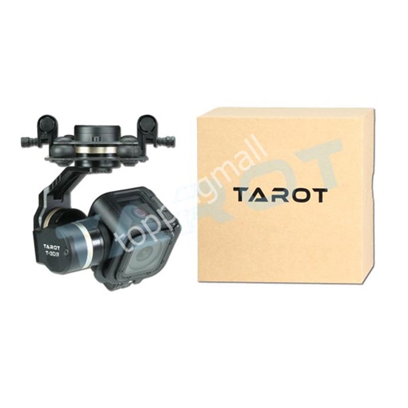 Tarot TL3T02 GOPRO T-3D IV 3 axes HERO4 SESSION caméra sans balai cardan PTZ pour FPV quadrirotor Drone Multicopter 50% de réduction - 6