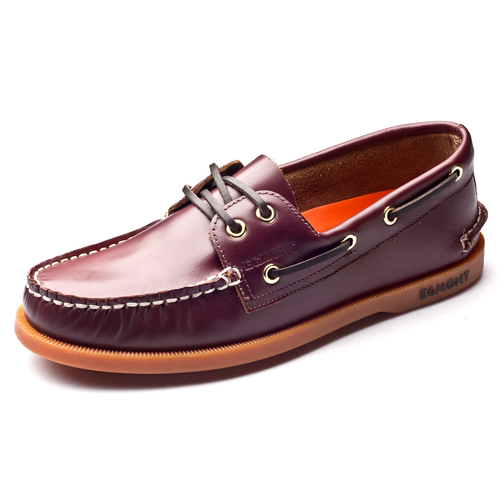 Эгмонт EG 09, винно красный цвет, весна лето, водонепроницаемые мокасины, мужская повседневная обувь, лоферы, натуральная кожа, масло, воск, ручная работа, удобная дышащая обувь - 5