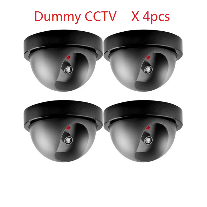 Free shopping New Model Lowest price Outdoor Waterproof IR Dummy CCTV Dome of the LED fake Surveillance security camera the price regulation of
